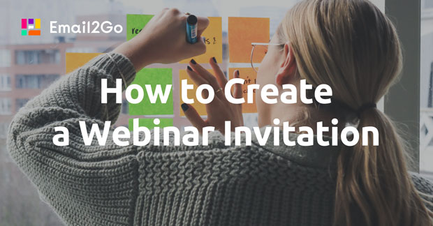 How to Create a Webinar Invitation