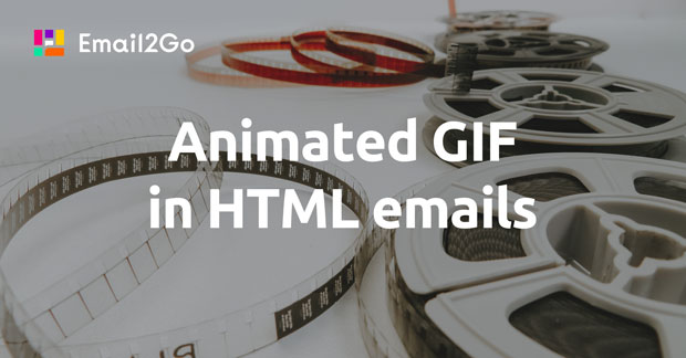 Animated GIF in HTML emails